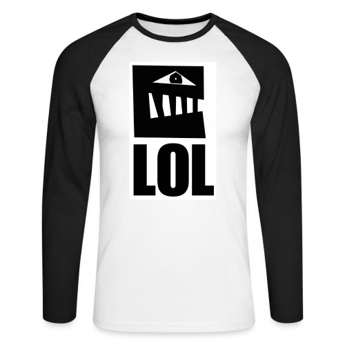 lol 4 - T-shirt baseball manches longues Homme