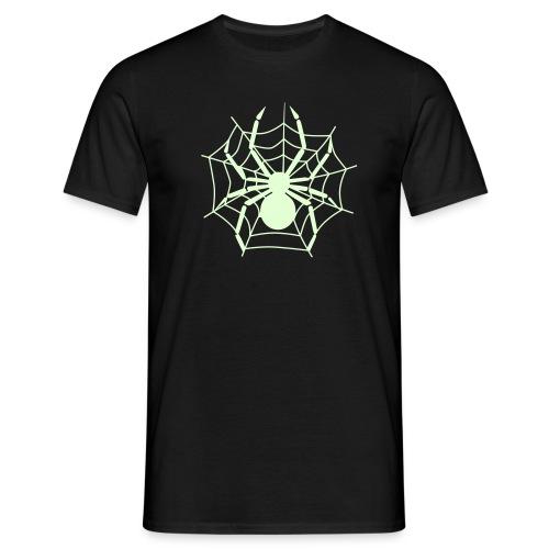 Spinnenshirt Gespenstisch - Männer T-Shirt