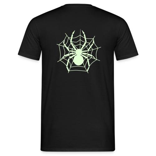 Gespenstisches Spinnenshirt - Männer T-Shirt