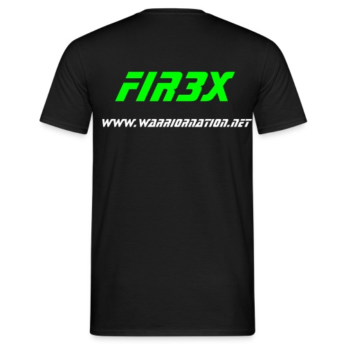 Fir3x - Round - Men's T-Shirt