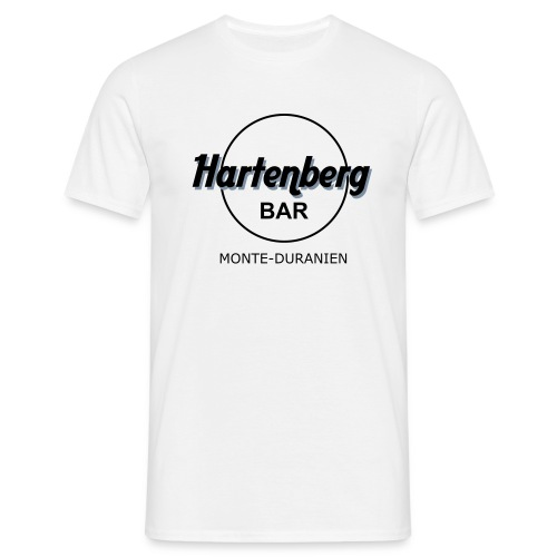 Hartenberg-Bar White - Männer T-Shirt