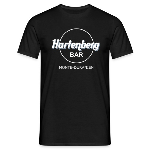 Hartenberg-Bar Black LIKE MY FUCKING METAL - Männer T-Shirt