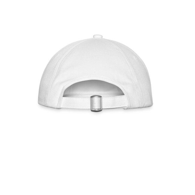 trucker cap whi/red
