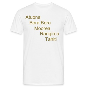 5 îles Atuona - T-shirt Homme