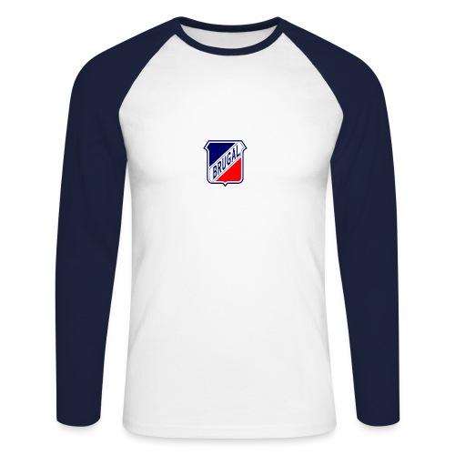 Baseballshirt Brugal - Männer Baseballshirt langarm