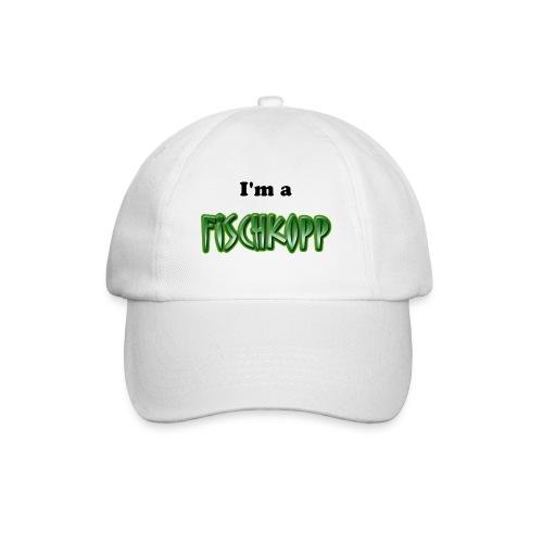 Cap weiss I'm a Fischkopp - Baseballkappe