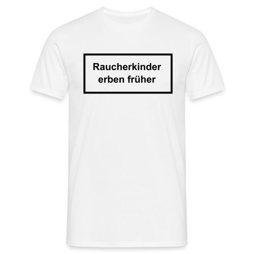 Raucher T-Shirt - Männer T-Shirt