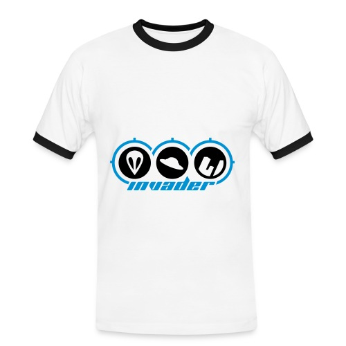 Invader T-shirt - Men's Ringer Shirt