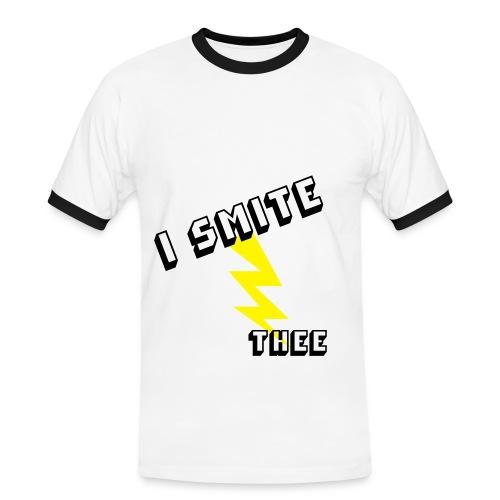 I Smite Three T-Shirt - Men's Ringer Shirt