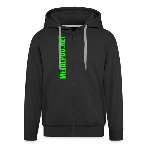Chest Vert Slime - Men's Premium Hooded Jacket