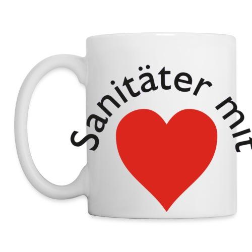 Tasse Sanitäter mit Herz - Tasse