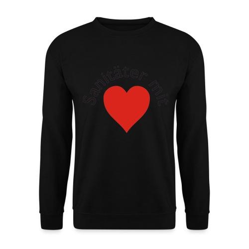 Sweater Sanitäter mit Herz - Männer Pullover