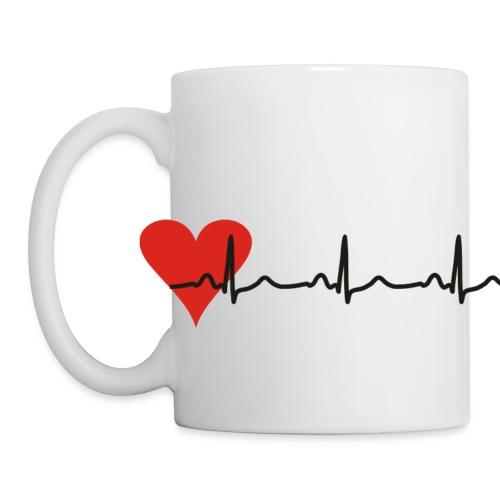 Tasse Herz EKG - Tasse
