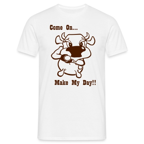 Make My Day! - Mannen T-shirt