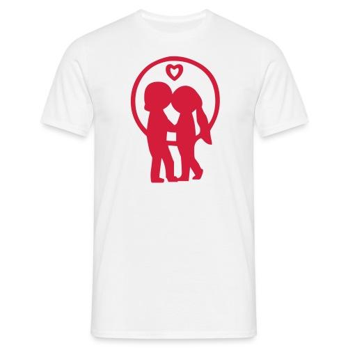 Kissing Couple - Men's T-Shirt