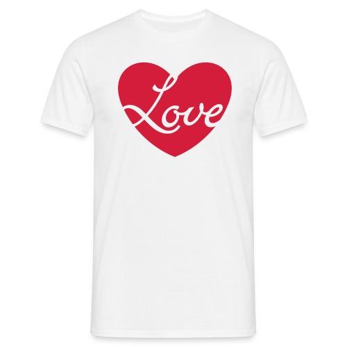 Heart - Love - Men's T-Shirt