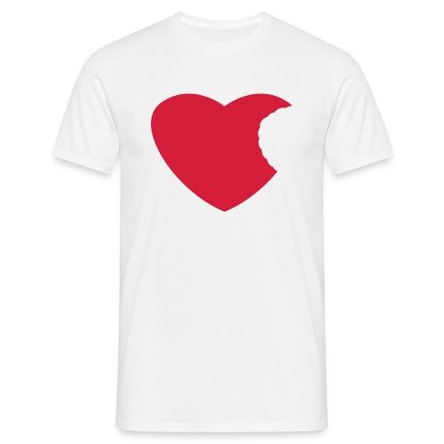 Heart - Eat Me ! - Men's T-Shirt