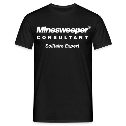 WRZ_32_MINESWEEPER_BLK - Männer T-Shirt