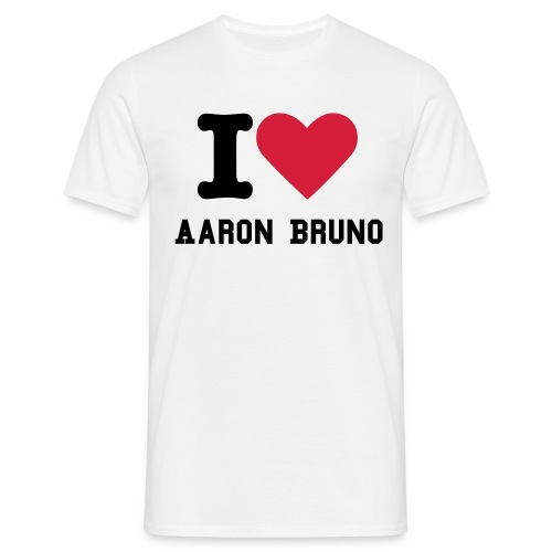 I Love Aaron Bruno Shirt - Men's T-Shirt