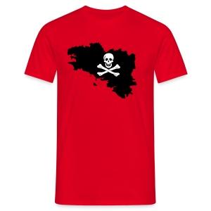 Bretagne pirate - T-shirt Homme