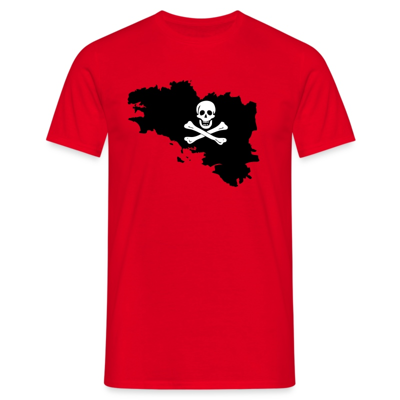 Bretagne pirate - T-shirt Homme