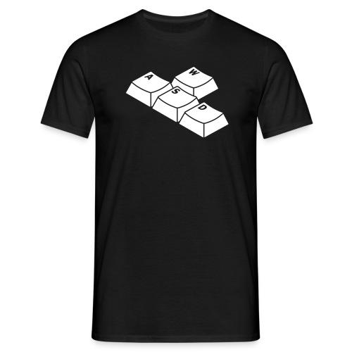 W-A-S-D - Männer T-Shirt