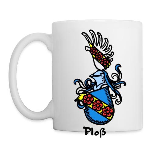 Wappen Ploß - Tasse