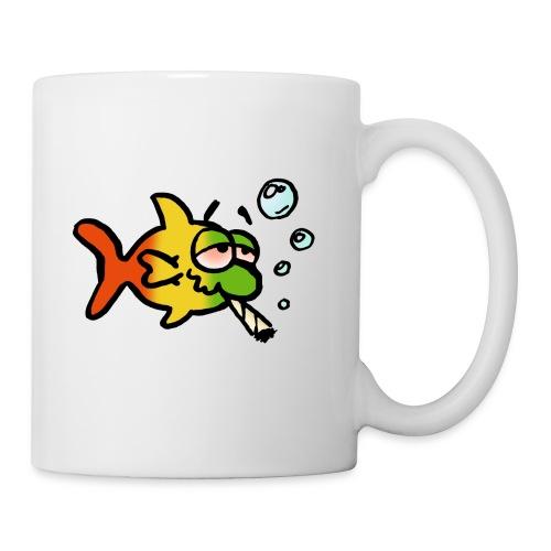 Kifferfisch am Morgen - Tasse