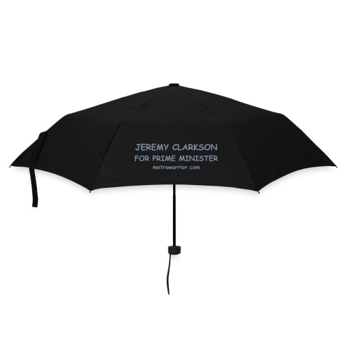 Jeremy Clarkson for Prime Minister Brolly - 1side print - Unisex - Umbrella (small)