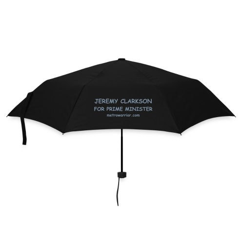 Jeremy Clarkson for Prime Minister Brolly - 2side print - Unisex - Umbrella (small)