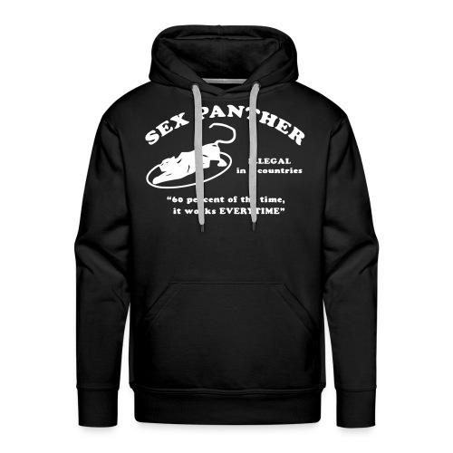 Sex Panther Hoodie Black - Men's Premium Hoodie