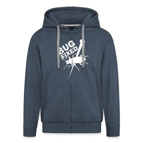 Hacker-Style / Hooded - Felpa con zip Premium da uomo