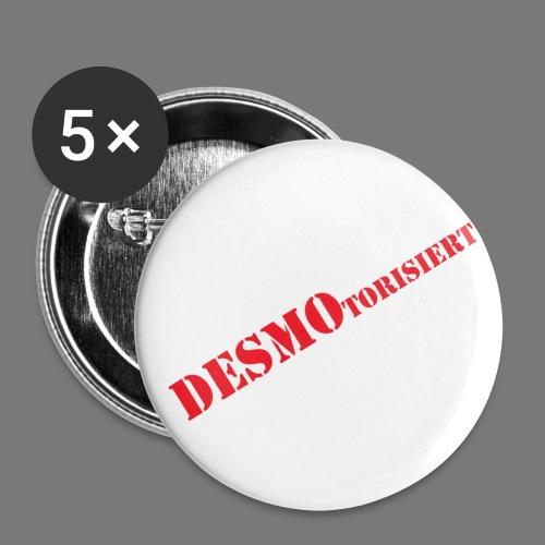 Ducati Motorrad DESMOtorisiert - Buttons klein 25 mm
