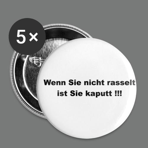 Button/Sticker für Ducati Fans & FahrerWenn sie nicht rasselt... Buttons / Anstecker - Buttons klein 25 mm