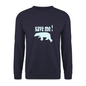 save me - Sweat-shirt Homme