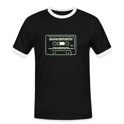 juniordetektiv newGen glow in the dark - Männer Kontrast-T-Shirt