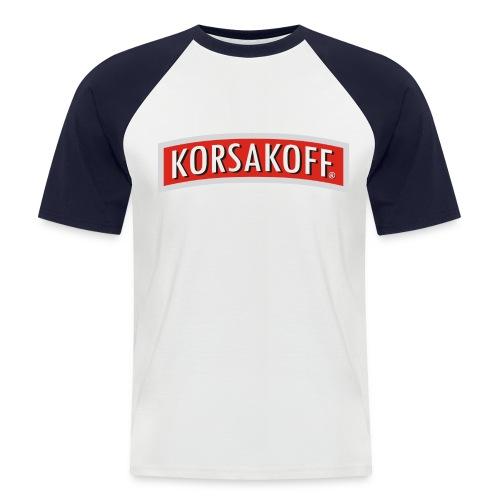 korsa - Mannen baseballshirt korte mouw