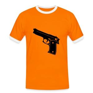 gun - Mannen contrastshirt