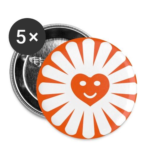 Button Sunshine - Buttons klein 25 mm