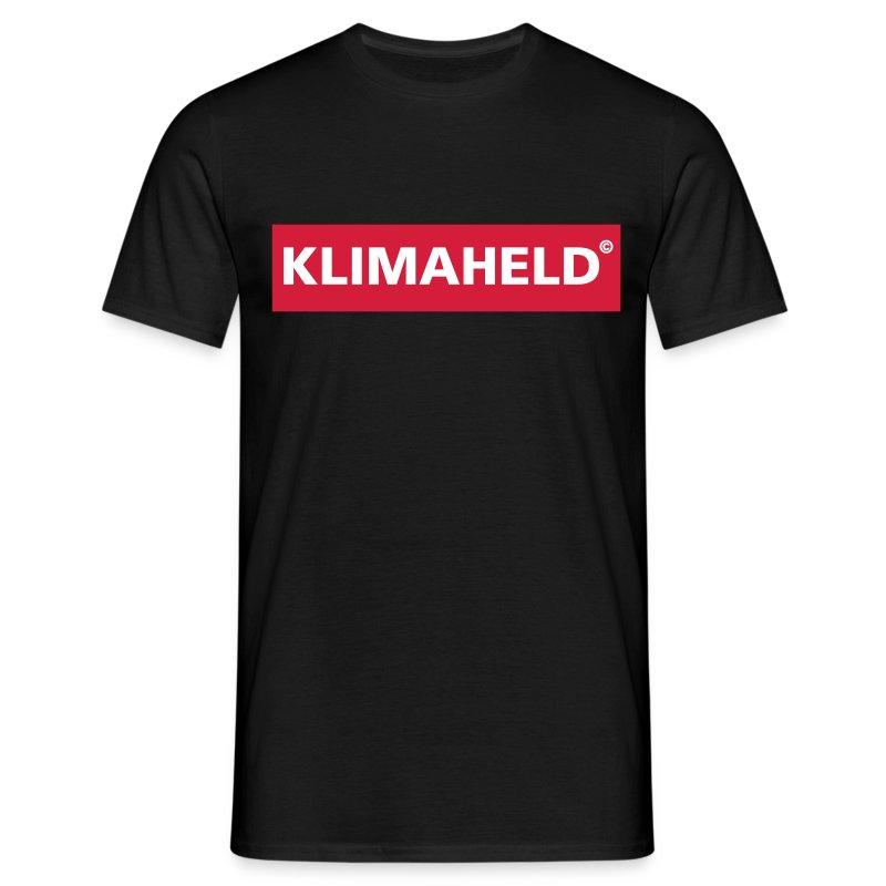 klimaheld - Männer T-Shirt