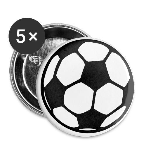 Buttons klein 25 mm (5er Pack)