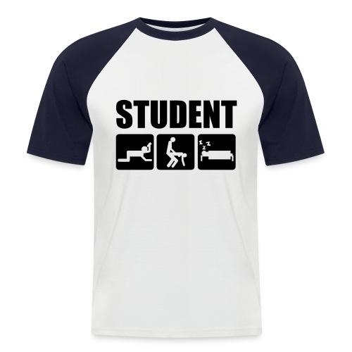 Student - Miesten lyhythihainen baseballpaita