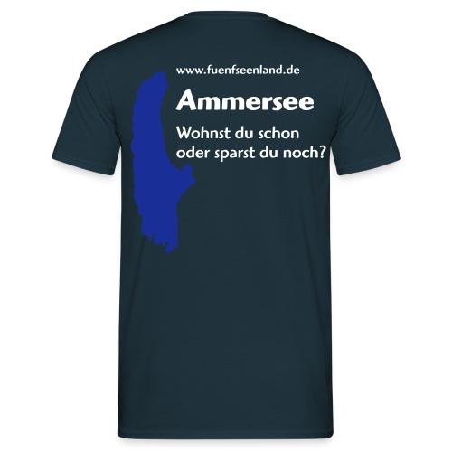 AMM - Wohnst du schon 2c - Männer T-Shirt
