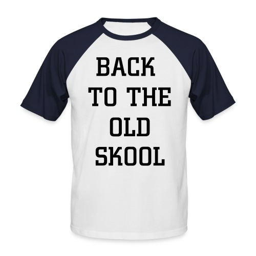 Men's Baseball T-Shirt - OLD SCHOOL