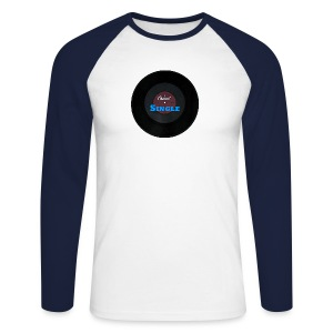 Single Vinyl Longsleeve shirt - Mannen baseballshirt lange mouw