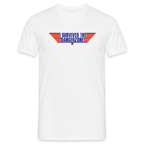 I Survived the Dangerzone - Men's T-Shirt