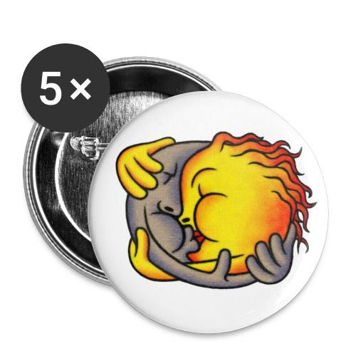 Mr.Moon&Mrs.Sun - Buttons mittel 32 mm