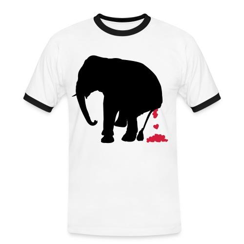 BIG Code - Männer Kontrast-T-Shirt