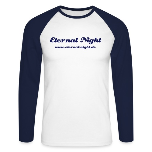 Männer Baseballshirt langarm - Eternal Night