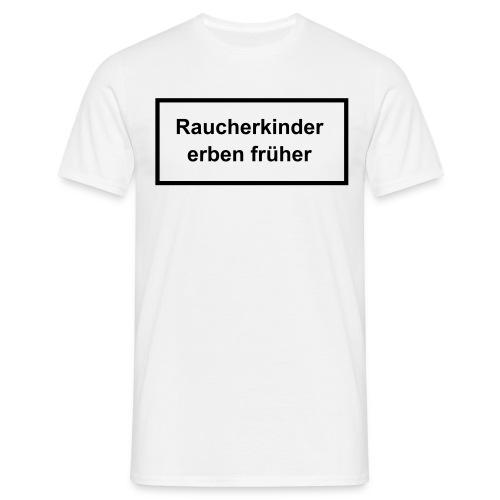 Shirt - Rauchen - Männer T-Shirt
